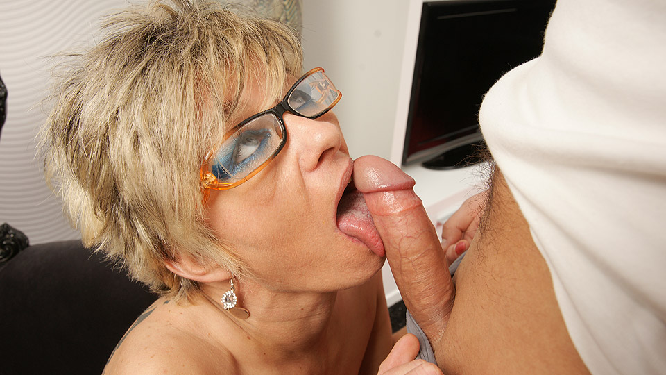 granny blowjob with rita 60 years old