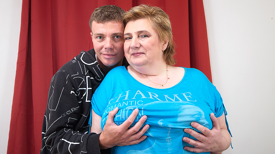 Huge breasted BBW getting fucked by her toy boy