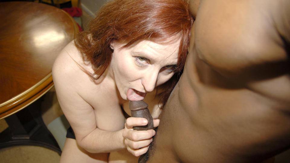 Mature Amateur Interracial mature women video