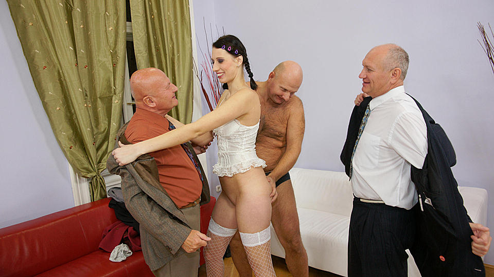 Oldies Gang Bang Pics